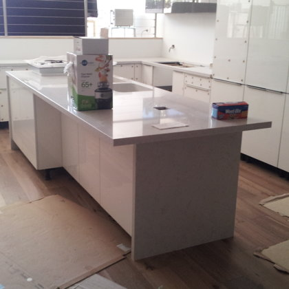 During Construction: Kitchen