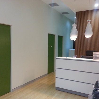 Reception - Consultation Rooms
