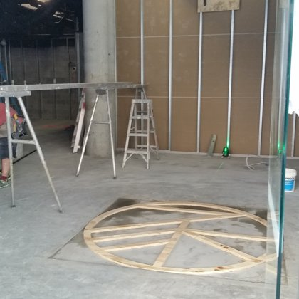 During Construction: Custom Flooring