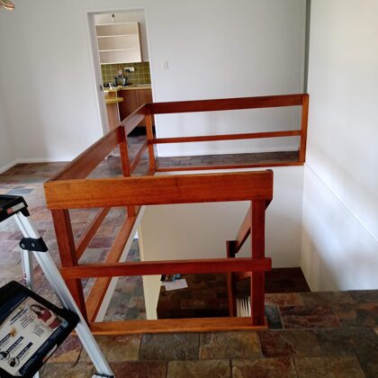 Before Open non-BCA Compliant Stairs